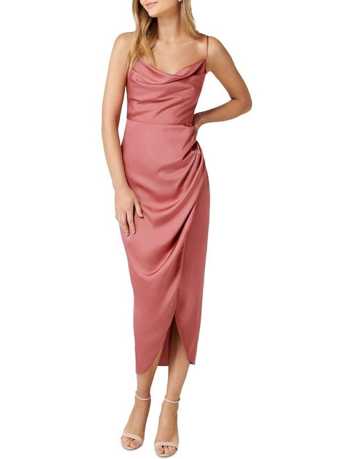 Holly Cowl Neck Midi Dress image 1