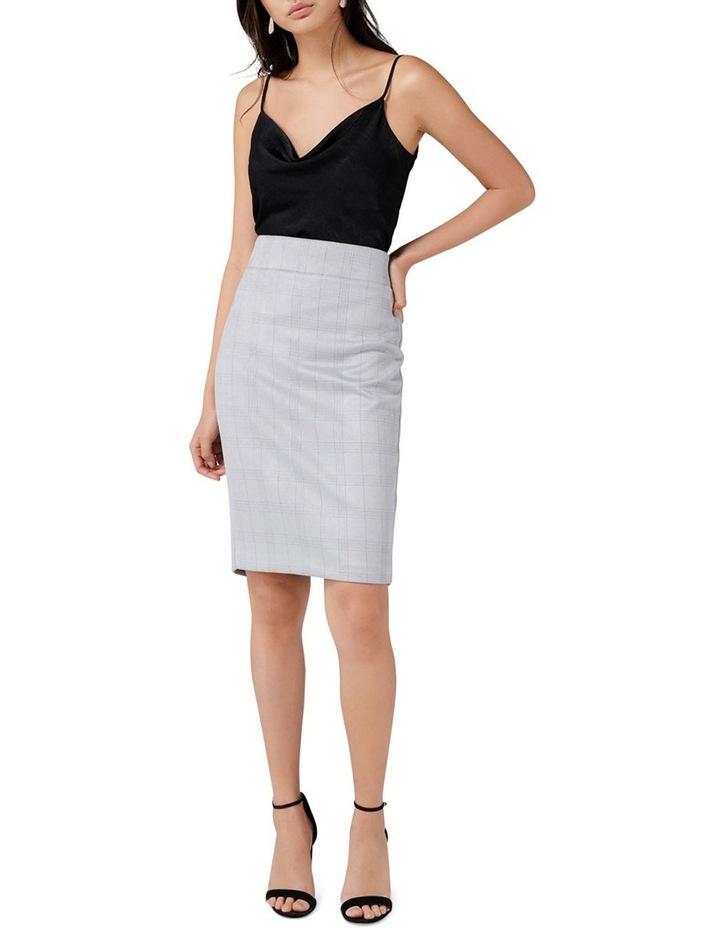 Angeline Suedette Pencil Skirt image 4