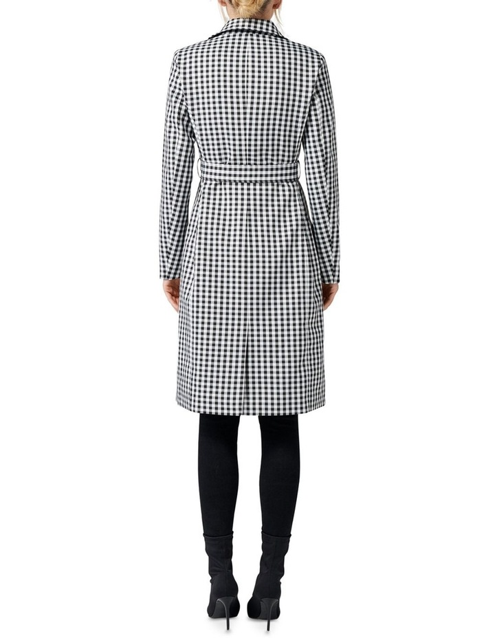 Rinnie Gingham Trench Coat image 4