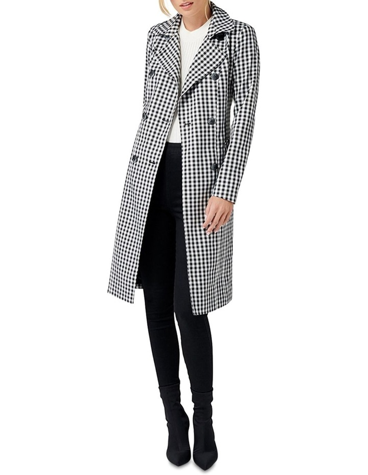 Rinnie Gingham Trench Coat image 5