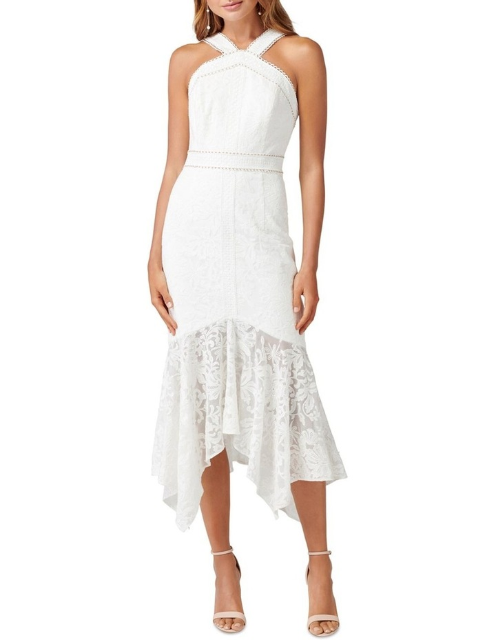 Sky Embroidered Fishtail Dress image 1
