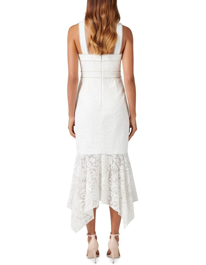 Sky Embroidered Fishtail Dress image 4