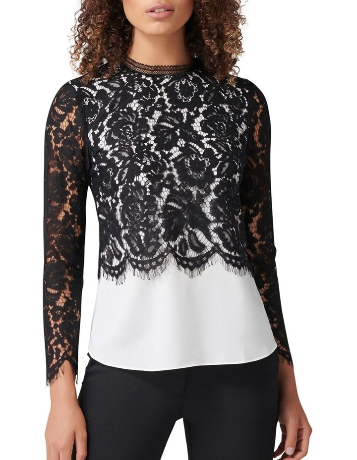 Dakota Two-in-One Lace Top image 1
