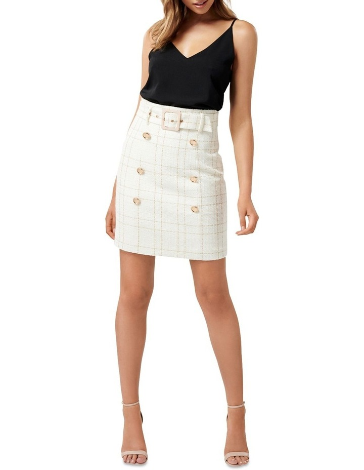Sunny Boucle Belted Skirt image 4