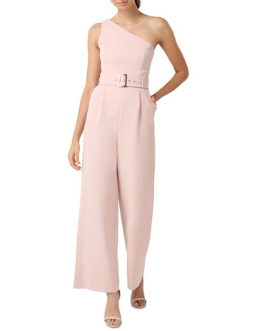 5ffdc6553fe Forever New Bonnie One Shoulder Jumpsuit