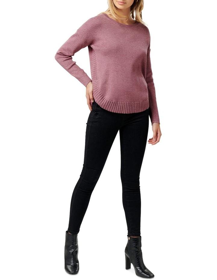 Lucy Curved Hem Jumper image 4