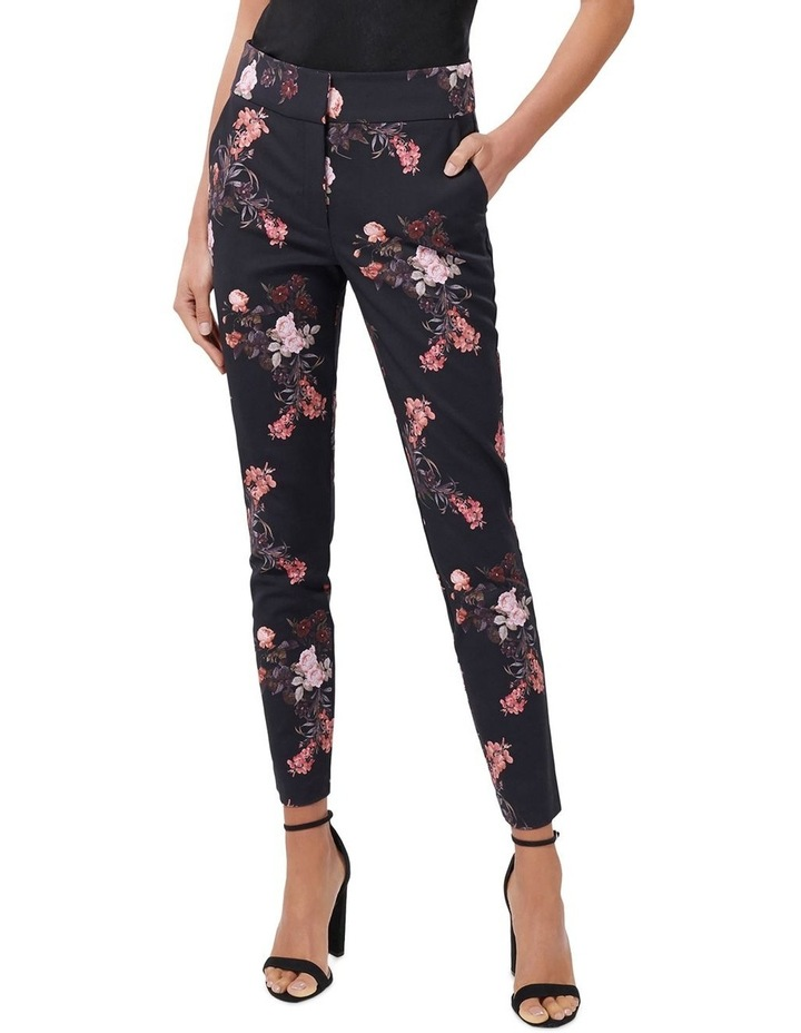Kellie High Waist Printed Pants image 1