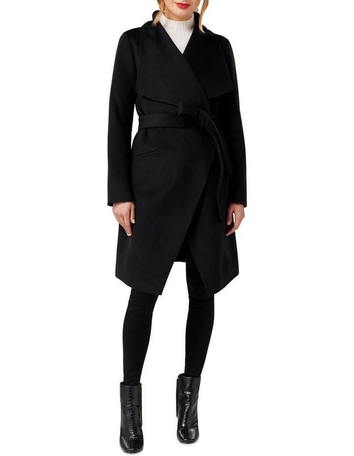 Megan Felled Seam Wrap Coat image 2