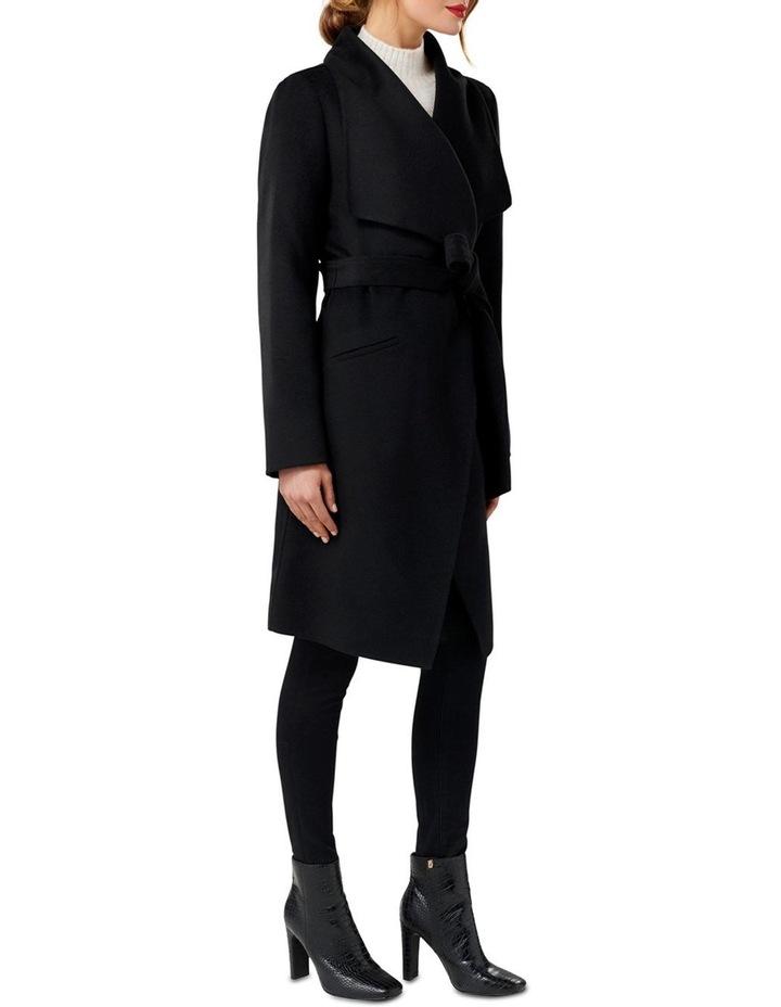 Megan Felled Seam Wrap Coat image 3