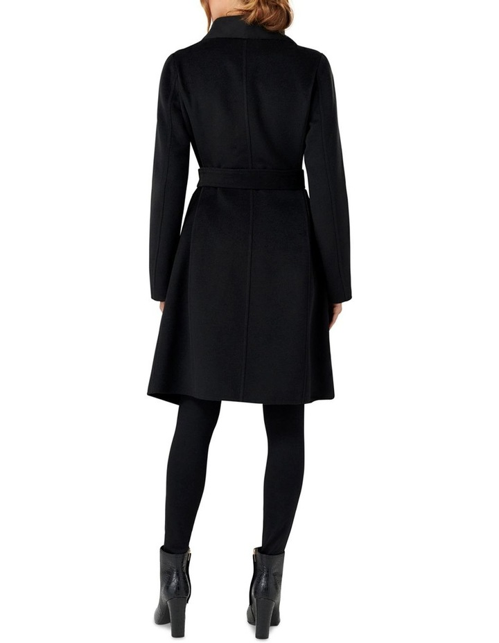 Megan Felled Seam Wrap Coat image 4
