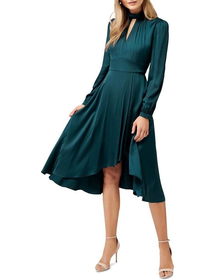 Raegan Halo Neck Dress image 1
