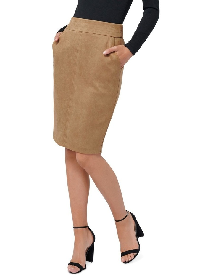 Tammy Suedette Pencil Skirt image 1