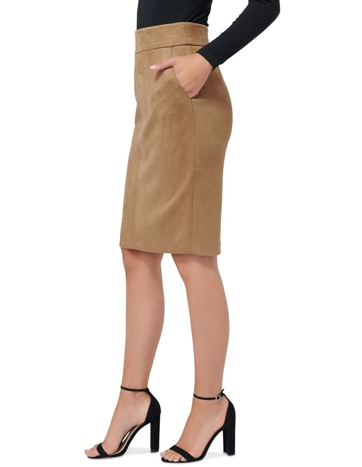 Tammy Suedette Pencil Skirt image 2