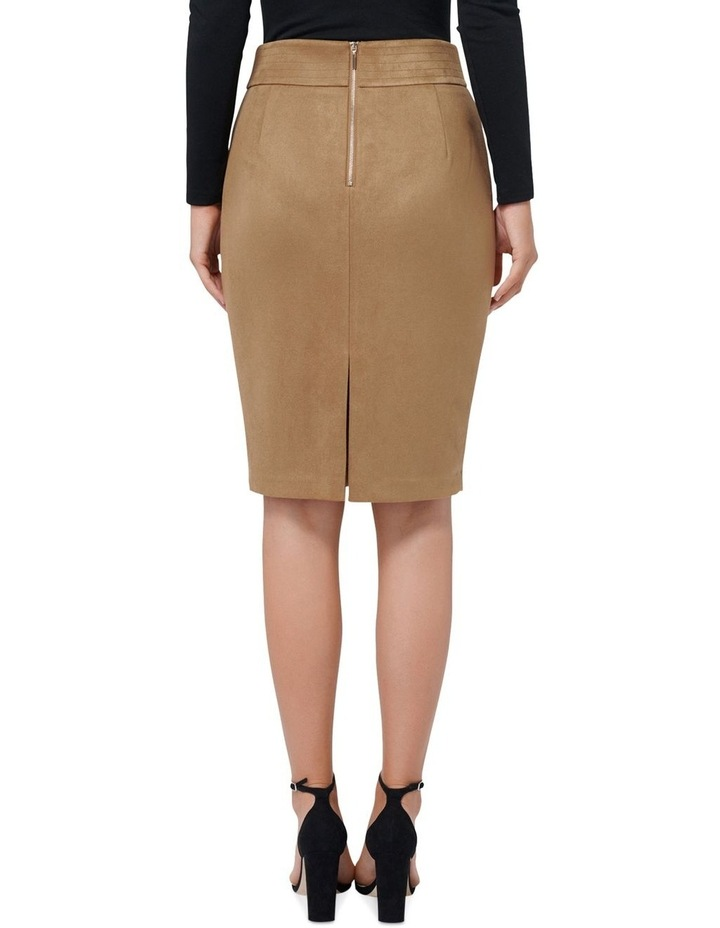 Tammy Suedette Pencil Skirt image 3