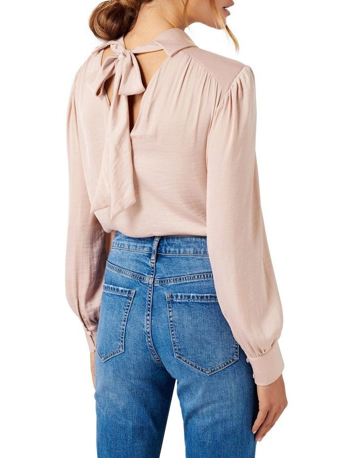 Kristina High Neck Drape Blouse image 3
