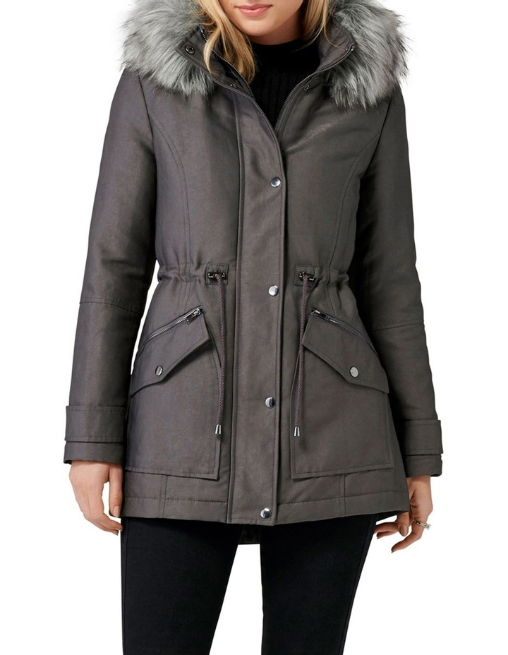 Demi Glam Parka by Forever New