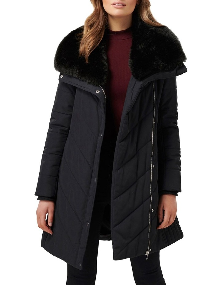 Sofia Puffa Coat by Forever New