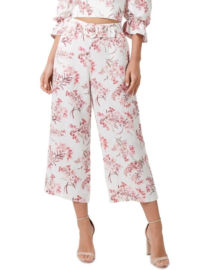 Vera Linen Blend Belted Pants image 1