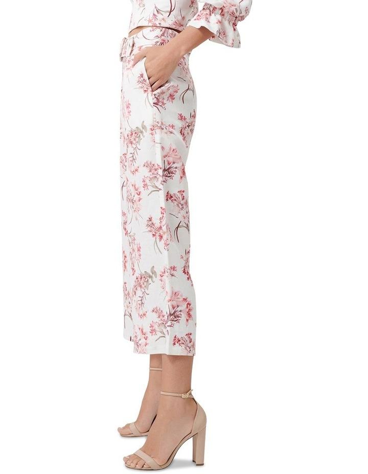 Vera Linen Blend Belted Pants image 2