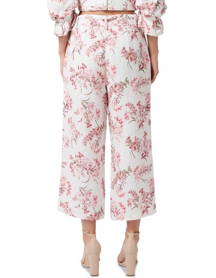 Vera Linen Blend Belted Pants image 3