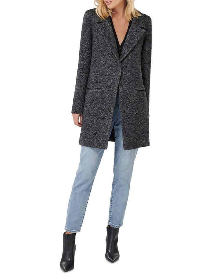 Layla Textured Crombie Coat image 4