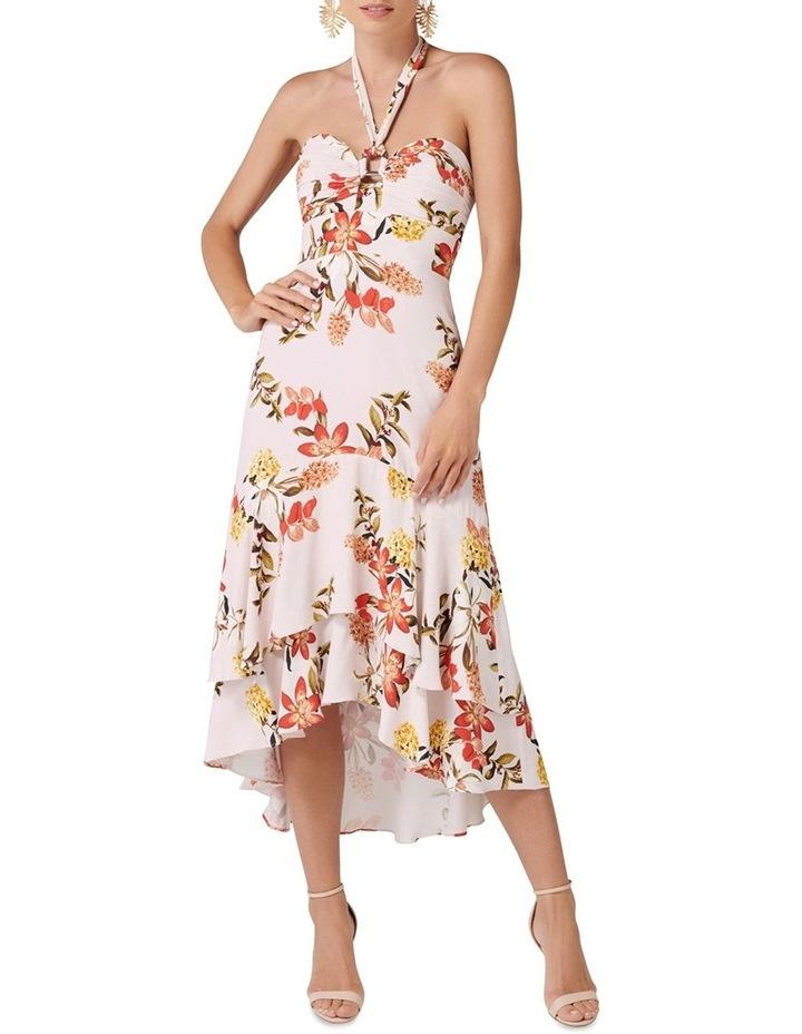 Moana Halter Neck Floral Dress image 1
