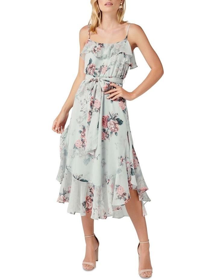 Amy Printed Midi Dress image 1