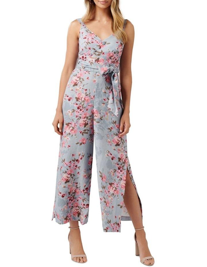 Celeste Printed Linen Jumpsuit image 1