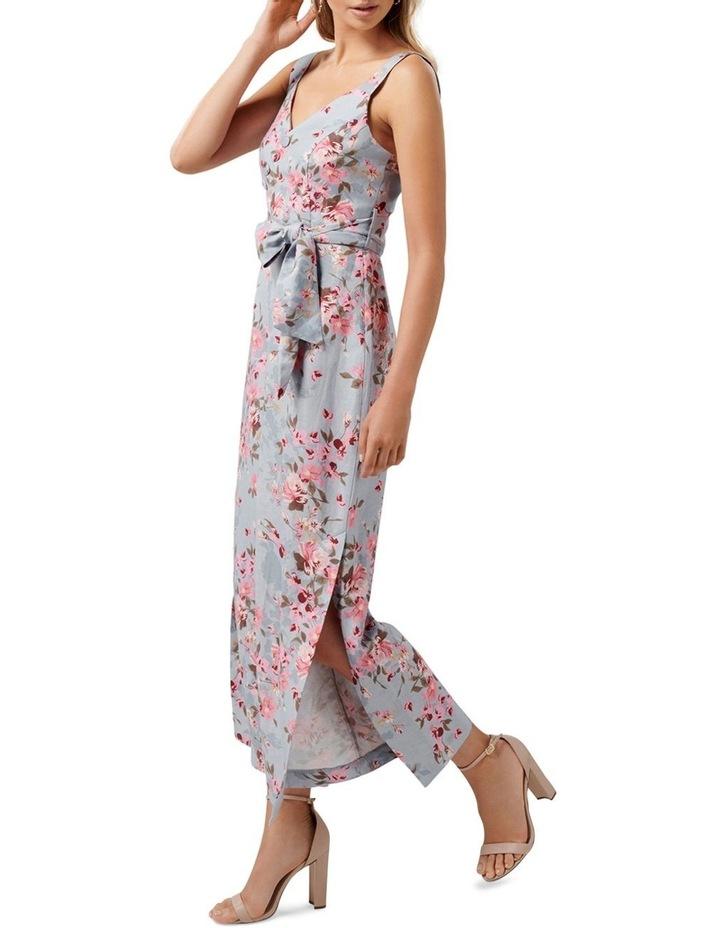 Celeste Printed Linen Jumpsuit image 3