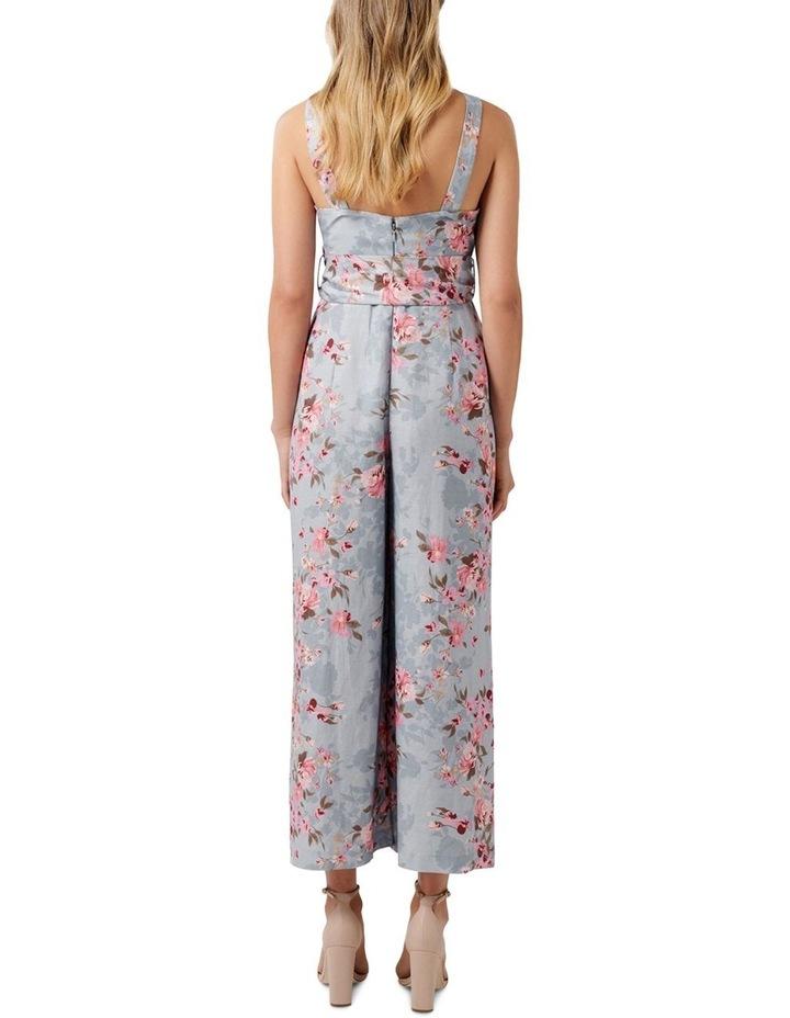 Celeste Printed Linen Jumpsuit image 4