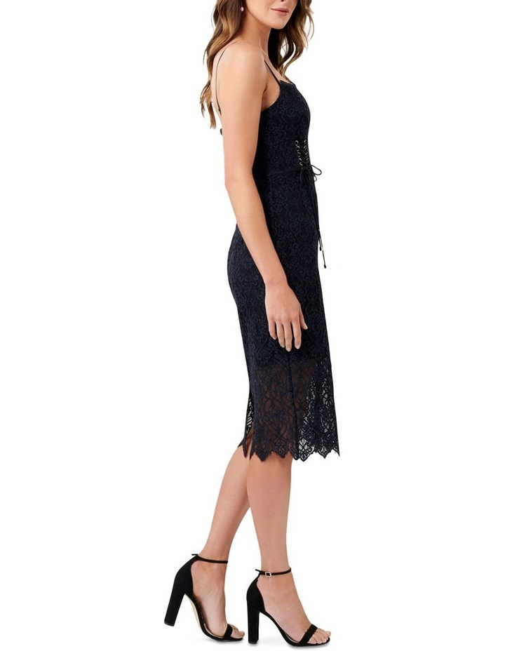 Emma Corset Front Lace Bodycon Dress image 3
