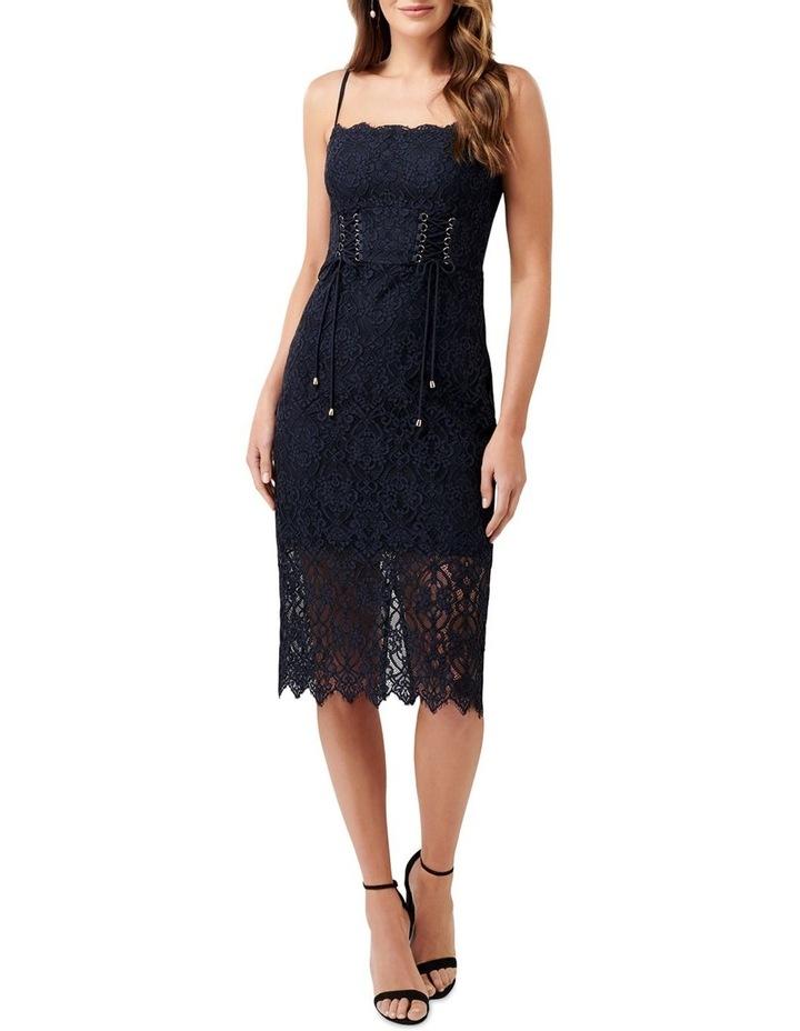 Emma Corset Front Lace Bodycon Dress image 5