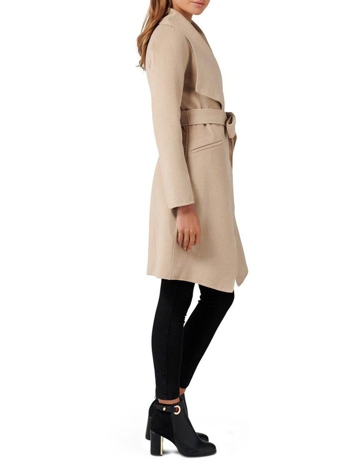 Megan Felled Seam Wrap Coat Petite image 3