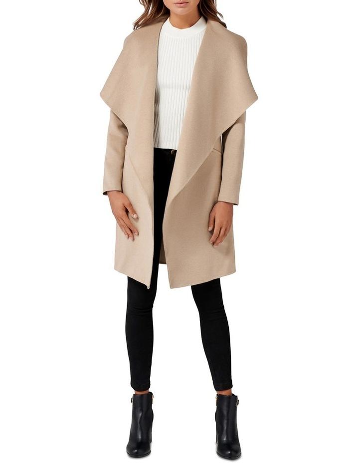 Megan Felled Seam Wrap Coat Petite image 5