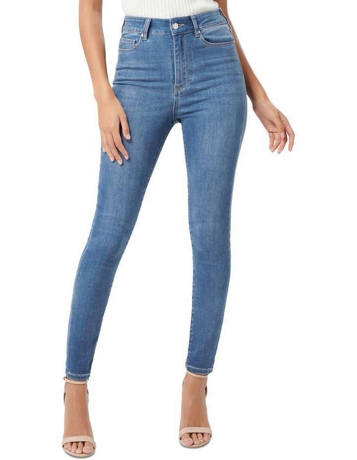 Cleo High Rise Ankle Grazer Jeans image 1