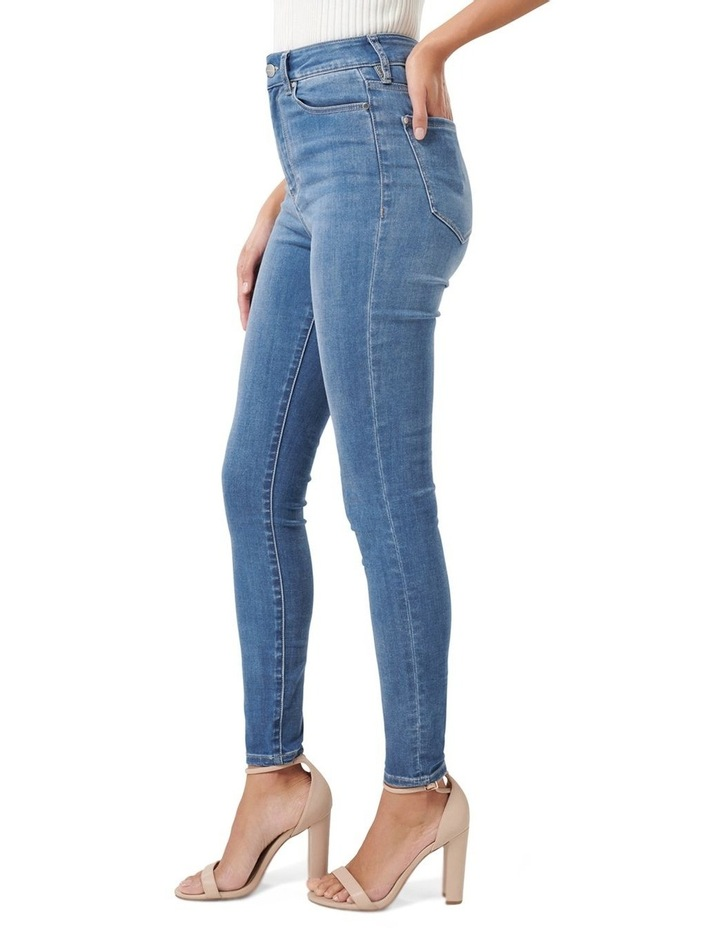 Cleo High Rise Ankle Grazer Jeans image 2