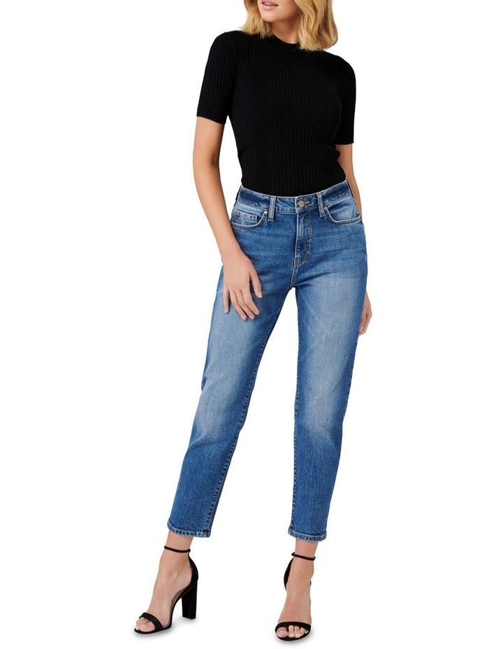 Bridget Mid Rise Boyfriend Jeans image 4