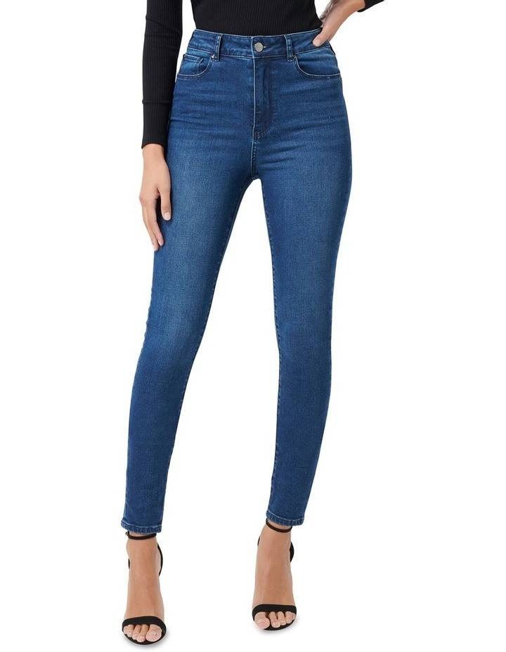 Helena High Rise Full Length Jeans image 1