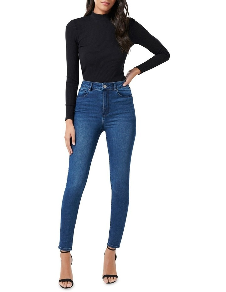 Helena High Rise Full Length Jeans image 4
