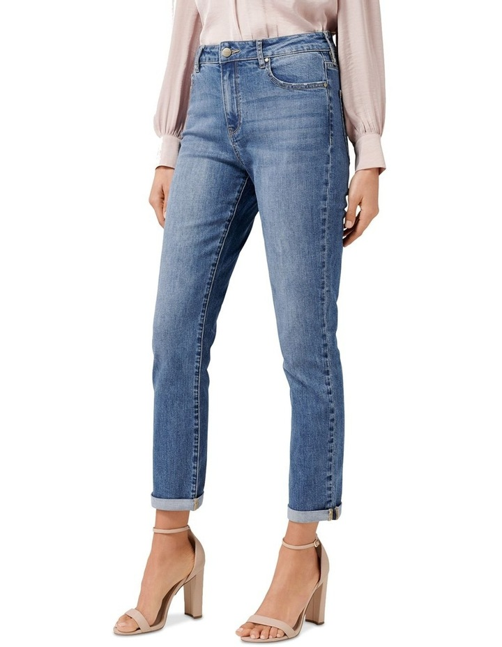 Emmy Mid Rise Girlfriend Jeans image 2