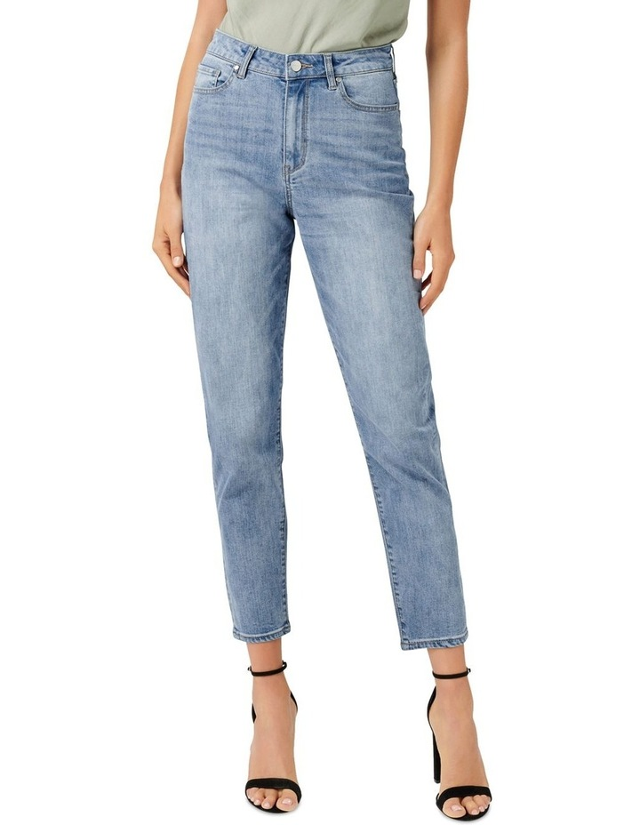 Mia High Rise Mom Jeans image 1