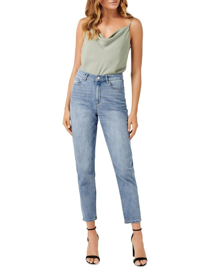 Mia High Rise Mom Jeans image 4