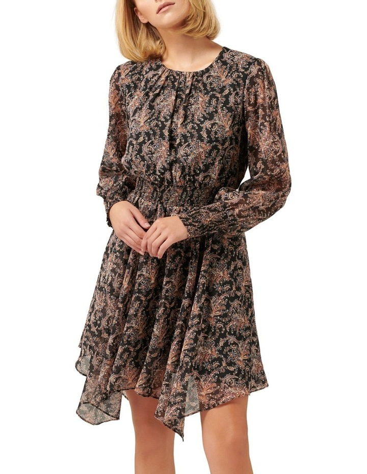 Molly Hanky Hem Paisley Dress image 1