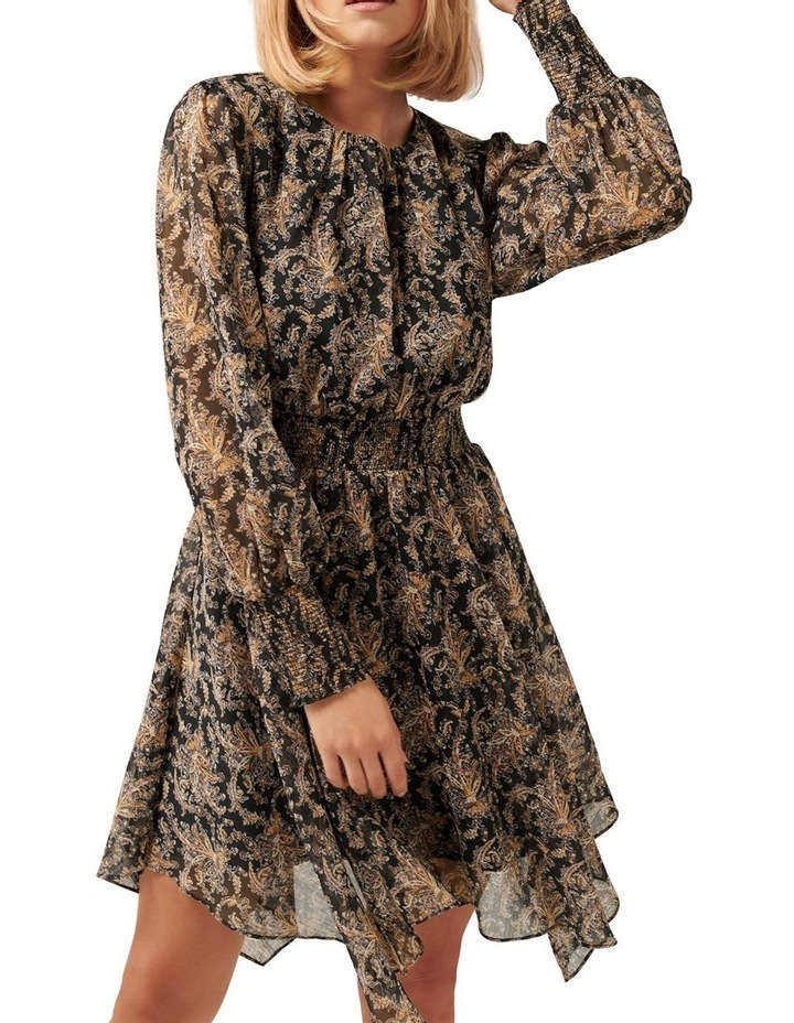 Molly Hanky Hem Paisley Dress image 2