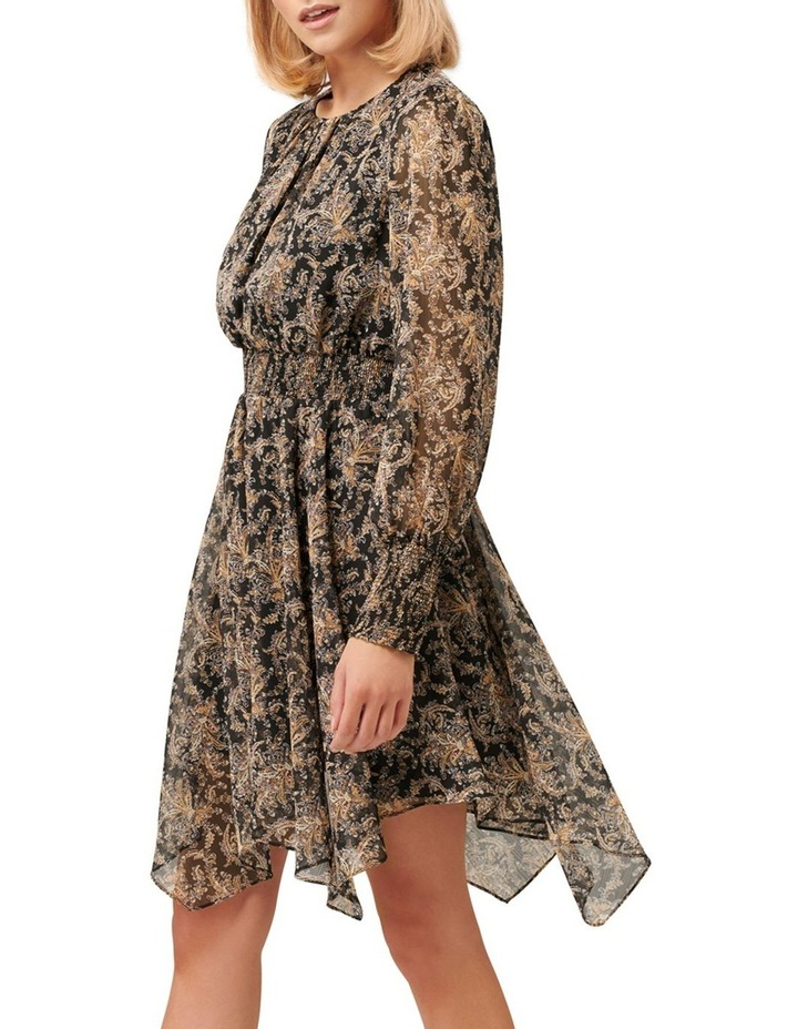 Molly Hanky Hem Paisley Dress image 3