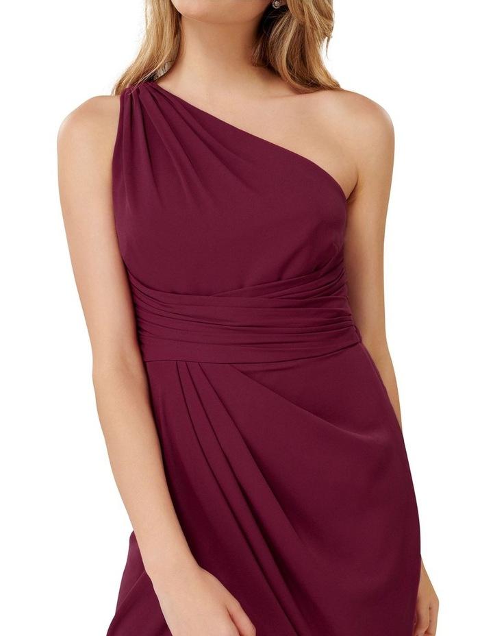 Mandy Petite One Shoulder Drape Maxi Dress image 2
