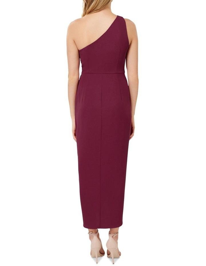 Mandy Petite One Shoulder Drape Maxi Dress image 4