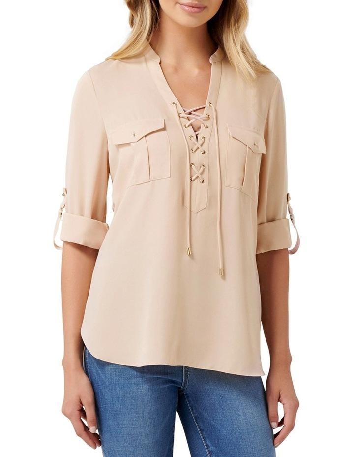 Lola Lace Up Tunic image 1