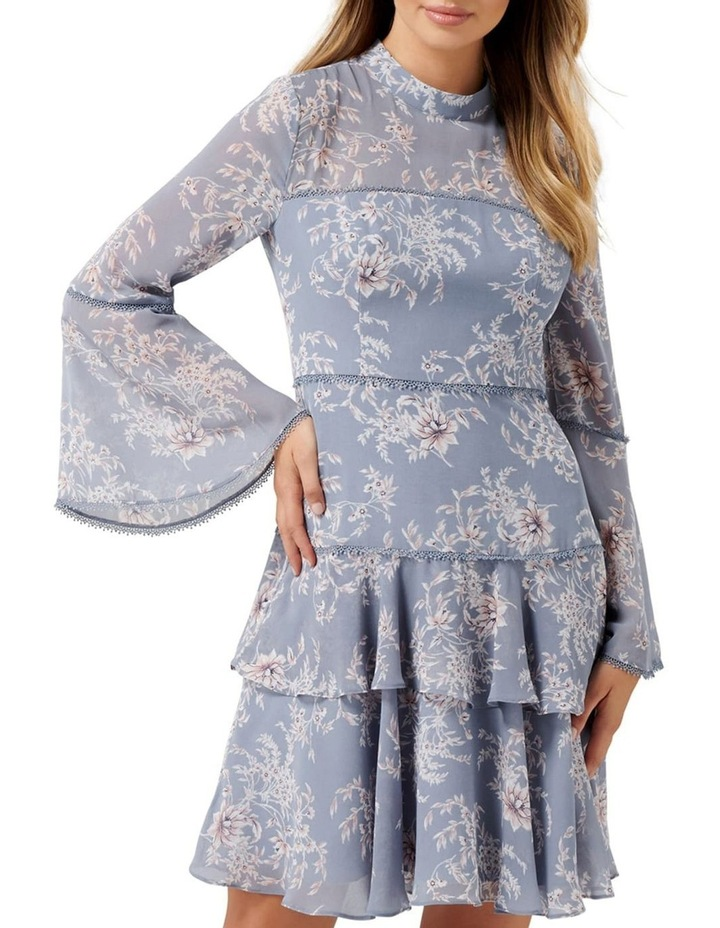 Archie Flare Sleeve Dress image 1