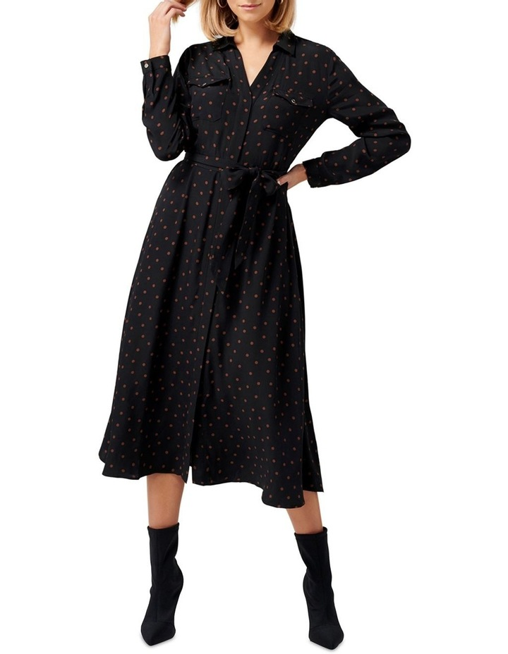 Clover Maxi Shirt Dress image 1